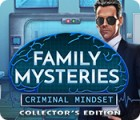 Permainan Family Mysteries: Criminal Mindset Collector's Edition