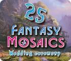 Permainan Fantasy Mosaics 25: Wedding Ceremony