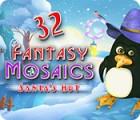 Permainan Fantasy Mosaics 32: Santa's Hut