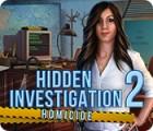 Permainan Hidden Investigation 2: Homicide