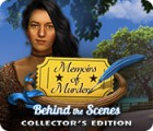 Permainan Memoirs of Murder: Behind the Scenes Collector's Edition