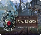 Permainan Mystery Trackers: Fatal Lesson Collector's Edition