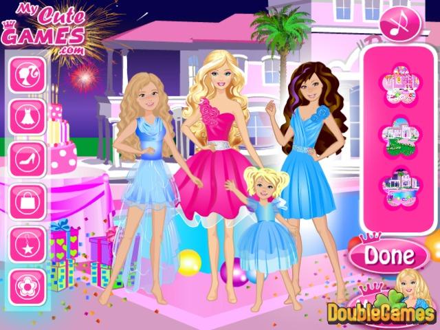 Happy Birthday Barbie Online Game