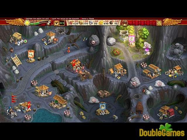 Layar unduh gratis Roads of Rome: New Generation III Collector's Edition 3